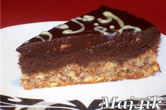 """Торт """"Шоколадный крем"""" на ореховой основе"""