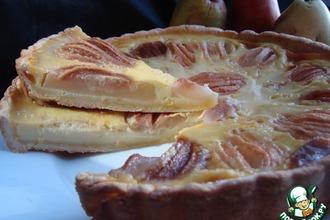 Пирог из груш по-эльзасски