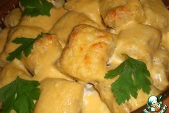 Ньоки, запечeнные под сыром