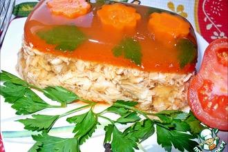 Рыбный холодец в томатном желе «Для разгону!»