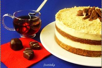 Маково-ореховый торт со сгущенкой