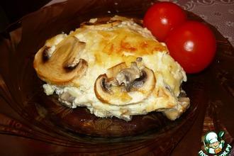 Сливочное суфле с грибами