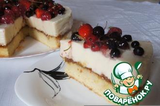 Нежный торт - пока без названия
