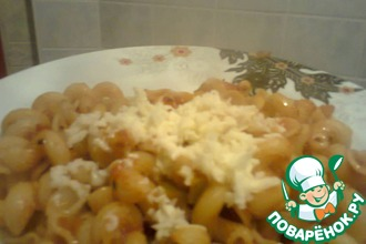 Макароны в томатном соусе