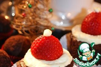 """Новогоднее пирожное """"Санта"""""""