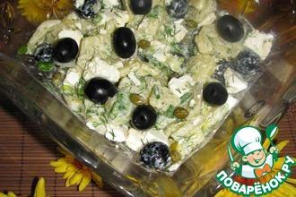 Греческий картофельный салат