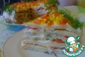 Торт из цветной капусты