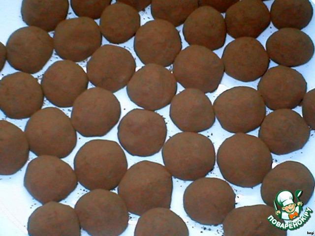 Получается примерно 50-55 конфет.