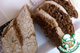 Быстрый бездрожжевой хлеб из трех ингредиентов