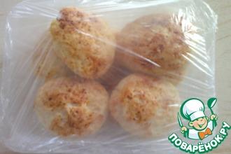 Сырники с кокосовой стружкой запеченные и замороженные