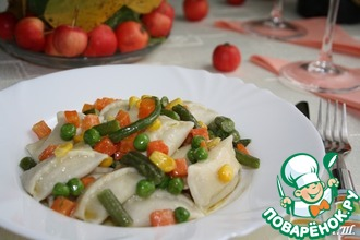 Аgnolotti-итальянские пельмени со сливочно-печеночной начинкой