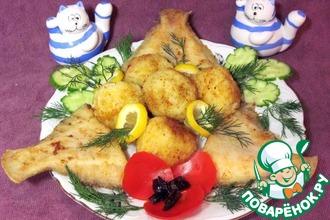 Крокеты рисовые с рыбой
