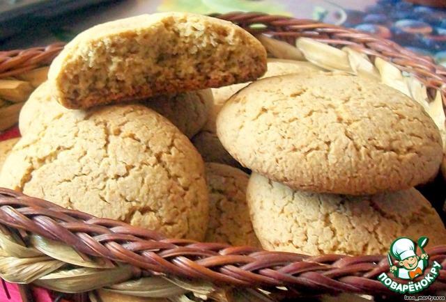 Кто любит овсяное печенье, милости прошу, попробуйте и мой вариант!