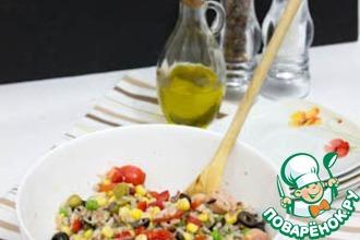Рисовый салат по-итальянски