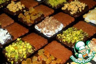 Печенье шоколадное «Ассорти»