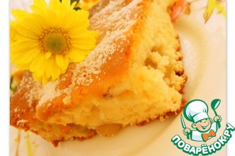 Bиноградно-ореховый пирог с апельсиновым ароматом