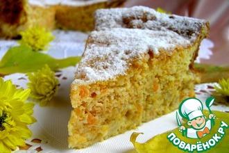 Итальянский морковно-ореховый пирог
