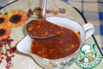 Кисло-сладкий китайский соус