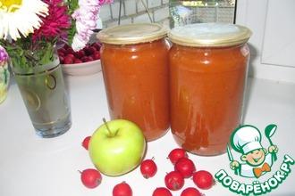 Джем из яблок и боярышника