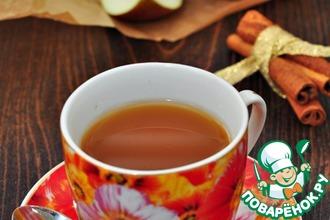 Яблочно-медовый чай с ароматом лимона