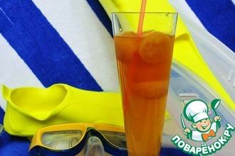 Strong tea on the beach