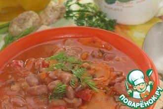 Фасолада-постный Греческий суп