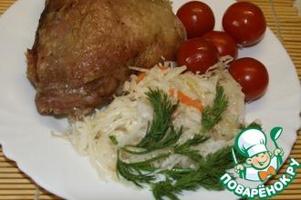 Бедра куриные, приготовленные в жаропрочном пакете