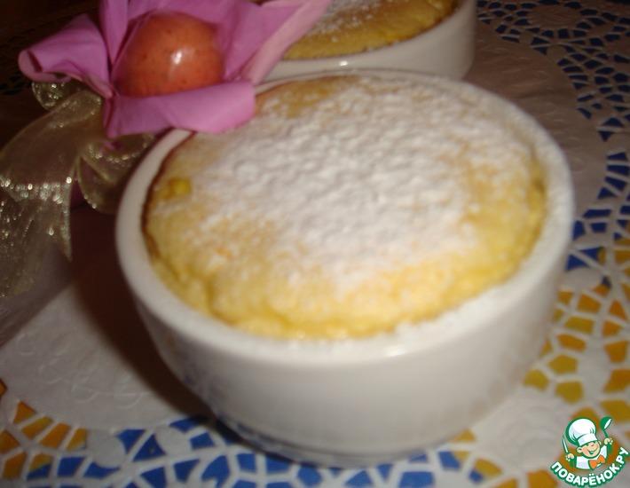 Суфле с апельсинами по-сицилийски