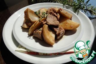 Свинина с картофелем и артишоками