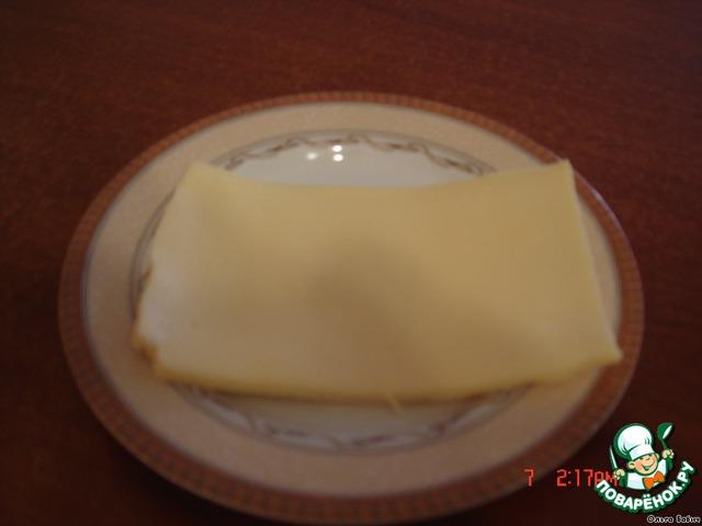 Сыр растопить в микроволновке.