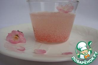 "Десерт ""Цветение вишни"""
