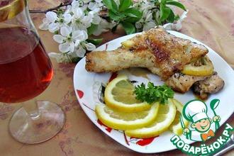 Cosce di pollo con il limone/куриные ножки с лимоном
