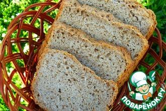 Хлеб ржано-пшеничный постный