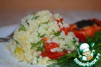 Салат с пшеном