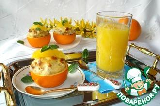 Нежный апельсиново-пряный десерт