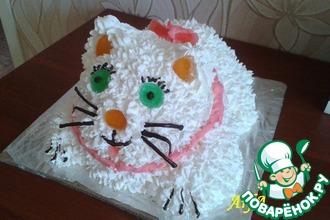 """Торт """"Пушистый котенок"""""""