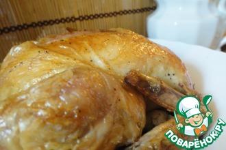 Курица пятичасовая с овощным соусом