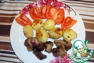 Желудочки с молодым картофелем