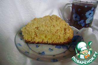 "Пирог ""Лимонная бомба"""
