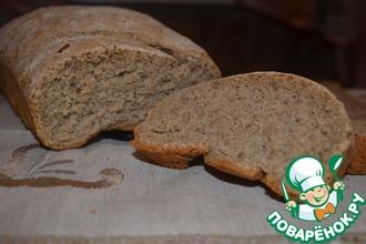 Хлеб с хлопьями из смеси злаков