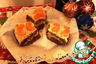 Мандариновый торт в мультиварке