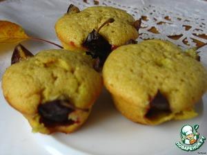Итальянские кексы с грушей