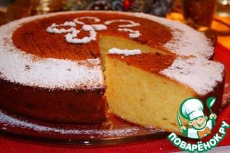Новогодний греческий пирог Василопита