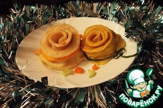 Новогодний картофельный подарок