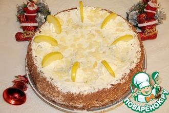 Баденский торт с орехами и шоколадом