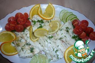 Рыба с цитрусовым ароматом