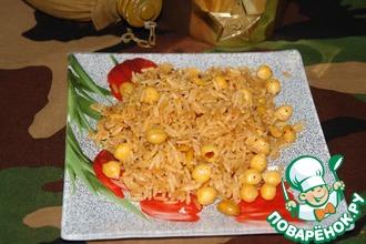Рис с нутом и арахисом