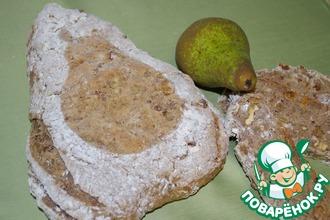 Гречневый хлеб с грушей и орехами