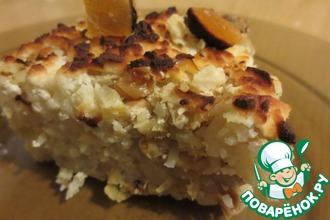 Сладко-пряный рис с адыгейским сыром (паниром)