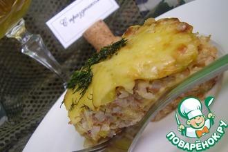 Запеканка гречневая с кабачком и сыром